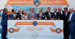 Kayseri Talas Sosyal Yaşam Merkezi'nin temeli atıldı!