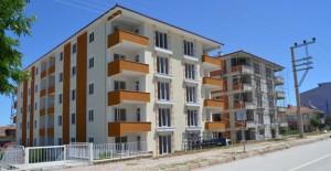 Samsun Ladik Toplu Konut Projesinde bina yapım çalışmaları hızla devam ediyor!