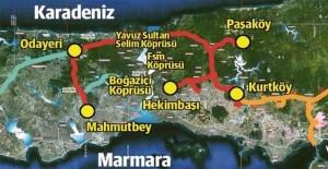 Yavuz Sultan Selim Köprüsünün...