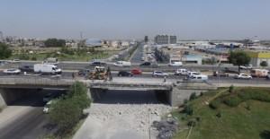 Adana D-400'de köprü yenileme çalışmaları yapılıyor!