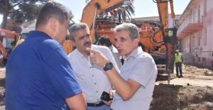 Aydın Nazilli'de eski devlet hastanesinin binaları yıkıldı!