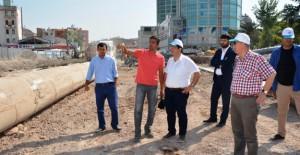 Başkan Yazgı, Piri Mehmet Paşa alt geçit projesi çalışmalarını inceledi!