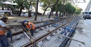 İzmir Konak Tramvayı'nda Şair Eşref Bulvarı tamamlandı!