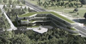 Kemerburgaz'a yeni proje; Metal Yapı Kemer Ofis projesi