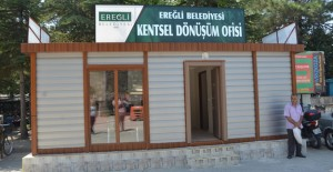Konya Ereğli'de dönüşüm için Kentsel Dönüşüm Ofisi kuruldu!