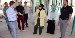 Meram Fahrünnisa Hatun Sosyal Tesisi hızla inşa ediliyor!