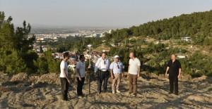 Yunusemre Mesir Tabiat Parkı'nın 2. kısmında çalışmalar başladı!