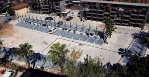 Antalya'nın ilk mekanik katlı otoparkı inşa ediliyor!