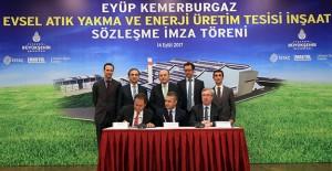 Eyüp Enerji Tesisi 1 milyon 500 bin kişinin elektrik ihtiyacını karşılayacak!