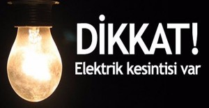 İzmir elektrik kesintisi! 24 Eylül 2017