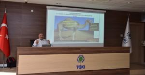 TOKİ, 'Depreme Hazırlık ve Temel Afet Bilinci' seminerini düzenledi!