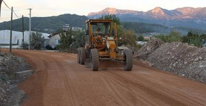 Antalya Sahilkent asfalta kavuştu!
