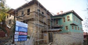 Cumalıkızık'ta restorasyon çalışmaları tamamlanıyor!