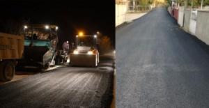 Konya Ereğli'de mahallelerin asfaltlama çalışmaları devam ediyor!