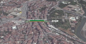 Gaziosmanpaşa - Eyüp karayolu tünelinin yapımına başlandı!