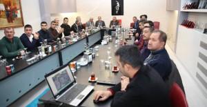 Kayseri Melikgazi'de 2018 yılı kentsel dönüşüm çalışmaları için toplantı düzenlendi!