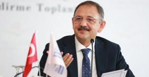 Özhaseki 'Kentsel dönüşümde yeni yasaları hazırladık'!