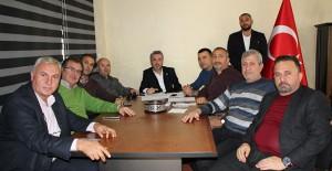 Antalya'lı müteahhitler yılın ilk toplantısını yaptı!