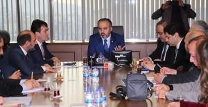 Bursa Büyükşehir Belediyesi kentsel dönüşüm toplantısı düzenledi!