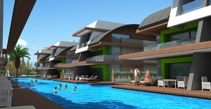 Marina Premium Villas projesi Konyaaltı'nda yükseliyor!