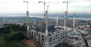 6 minareli Çamlıca Camii inşası tamamlanıyor!