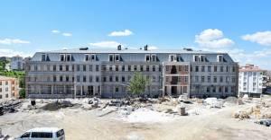 Altındağ Beşikkaya'daki okul yeni eğitim ve öğretim yılında açılacak!