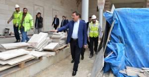 Başkan Gökçek yapımı devam eden projeleri gezdi!