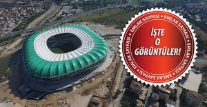 Bursa Büyükşehir Stadyumunun Heyecanlandıran Havadan Videosu!İşte stadyumda son durum...