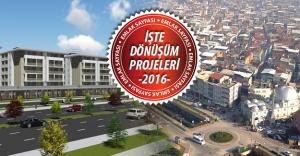 Bursa'nın kentsel dönüşüm haritası belli oldu!