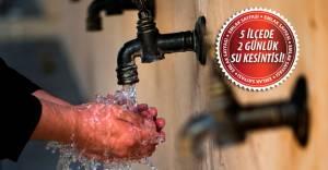 Bursa su kesintisi! 14-15 Mayıs 2016