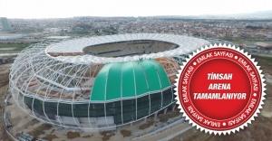 Bursa Timsah Arena'da Stadyumunun bitiş tarihi belli oldu!