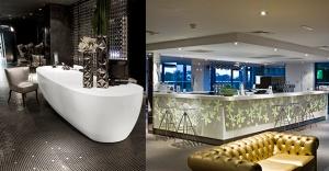 DuPont™ Corian® ile tasarımda sınırları zorlayan oteller