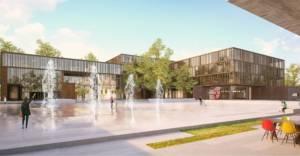 İnegöl Belediye Hizmet Binası ve Meydan Projesi yarışması sonlandı!