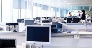İstanbul'daki ofislerde boşluk oranı yüzde 43 oldu!