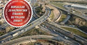 İşte 20 Haziran'da kapanacak yollar ve alternatif güzergahlar!