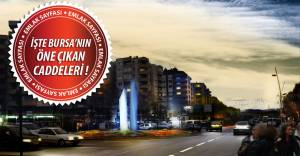 İşte Bursa'nın değer kazanan caddeleri...