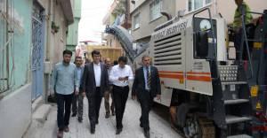 Osmangazi'de 2016'da 100 bin ton asfalt dökülecek!