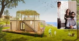 PAB Mimarlık'tan çevreci turizm yapıları önerileri!