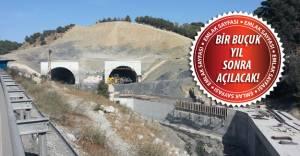 Sabuncubeli Tüneli'nin yüzde 59'u tamamlandı!