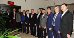 Şehrin Yıldızları 2016 Jürisi Vali Karaloğlu'nu ziyaret etti