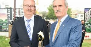 Şehrin Yıldızları Ödülü Recep Altepe'de...