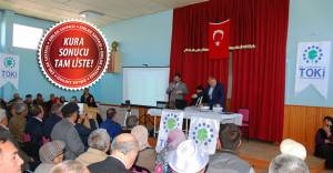 TOKİ Sivas İmranlı'da 109 emekli konutun sahiplerini belirledi!