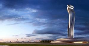 Üçüncü havalimanına lale figürlü kule!