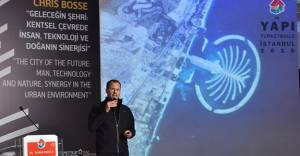 Ünlü mimar Chris Bosse geleceğin şehirlerini Yapı Fuarı'nda anlattı!