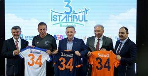 3. İstanbul projesi Başakşehir'e sponsor oldu!