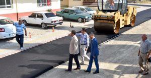 Altındağ Karapürçek'de 20 bin ton asfalt kullanıldı!
