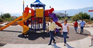 Antalya Döşemealtı'nın 11 mahallesine park ve sosyal alanlar!