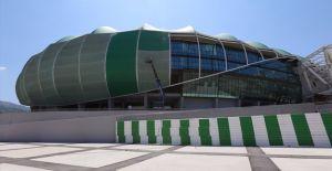 Bursa stadyumunun 'timsah kafası' üretimi başladı!
