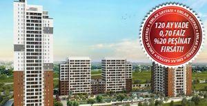 Emlak Konut Tual Bahçekent kampanyası!
