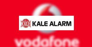 Kale Alarm ve Vodafone esnafın yanında!